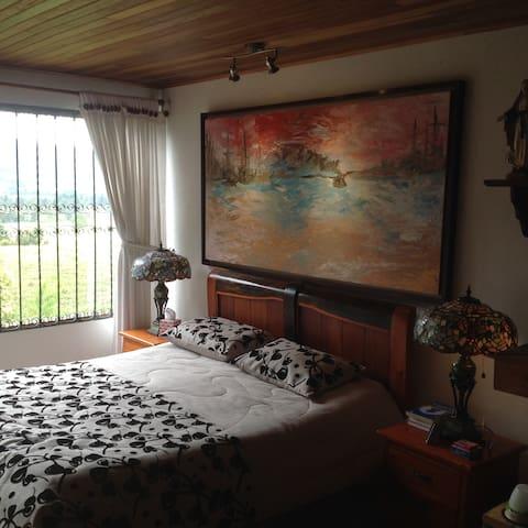 Habitación tipo suite en Tenjo Juaica - Tabio - Villa