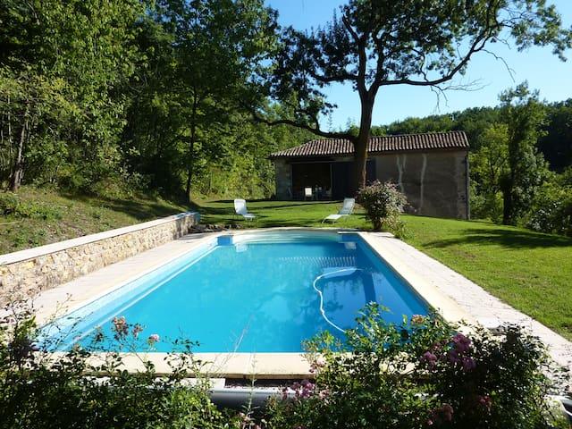 Maison 6 places 3 km de cordes - Saint-Marcel-Campes - Hus