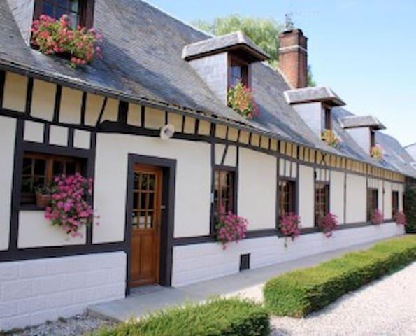La Ferme d'Hauville - Lannoy-Cuillère - Casa de huéspedes