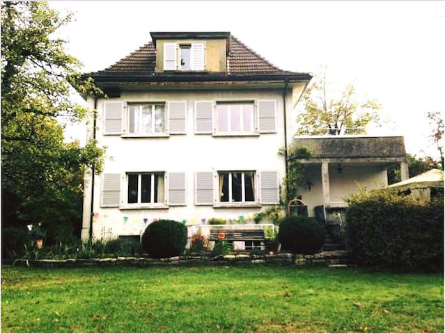 Cozy room (max. 2 Pers.) in a shared flat - Solothurn - Bed & Breakfast