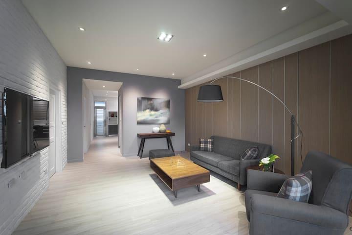 Four House 簡約典雅Soho三房公寓 - 花蓮 - Lägenhet