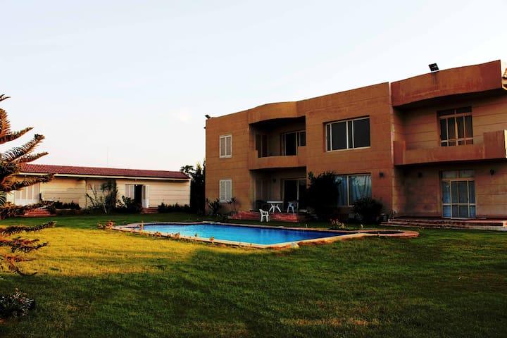 Suite,Pool and Garden - Cairo - Gjestehus