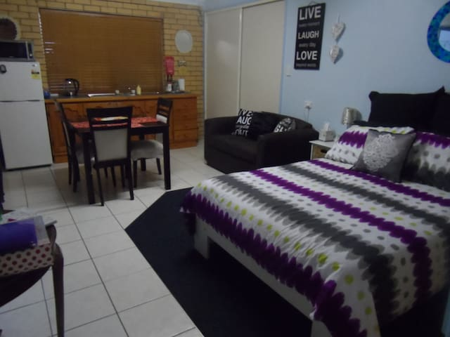 Cosy bedsit free wifi and parking. - Geebung - Appartement