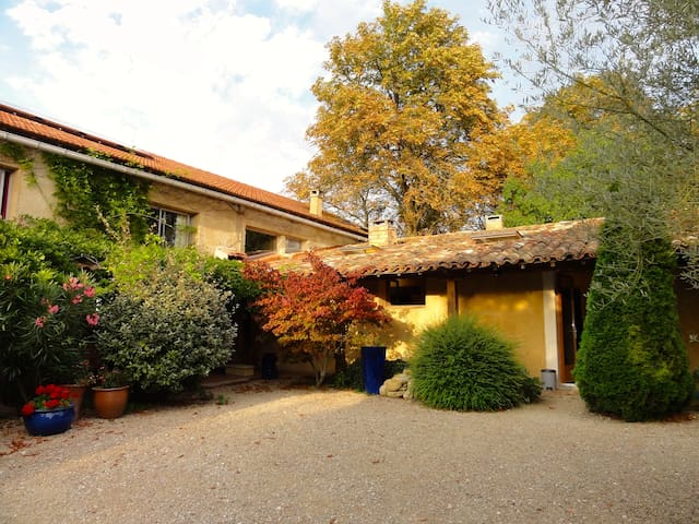 The Old Barn - between 6 and 12 guests - Gaja-la-Selve - Haus