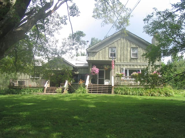 Nature in picturesque rural setting - East Jewett - Maison