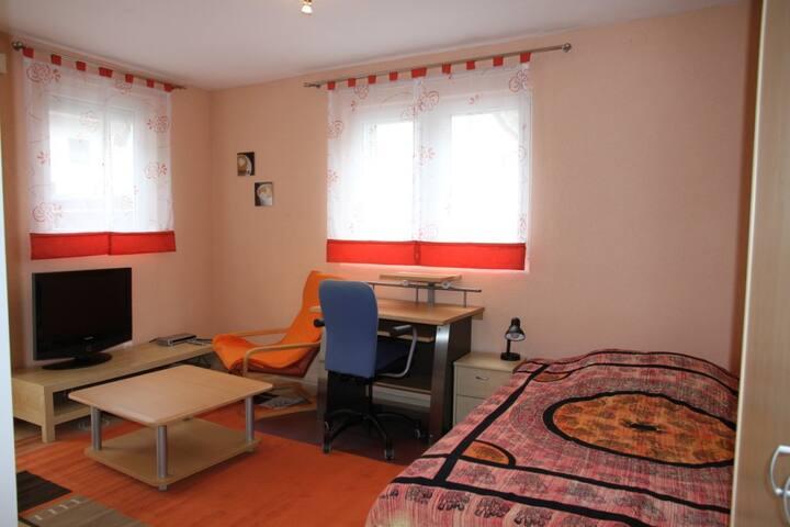 gemütliches Studio-Apartment, voll möbliert - Griesheim