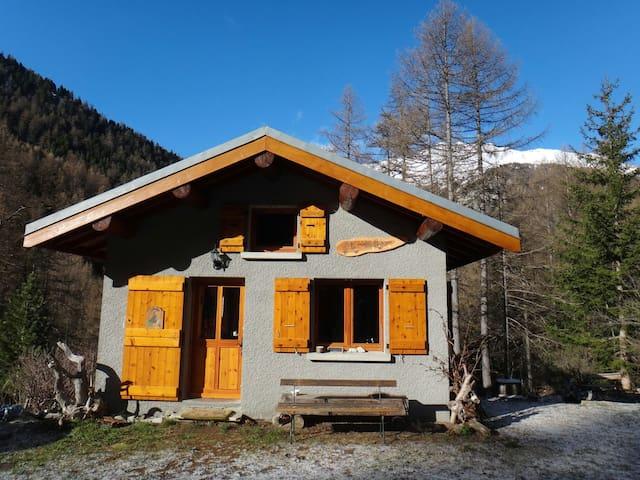 Chalet paisible en pleine montagne - Bramans - Huis