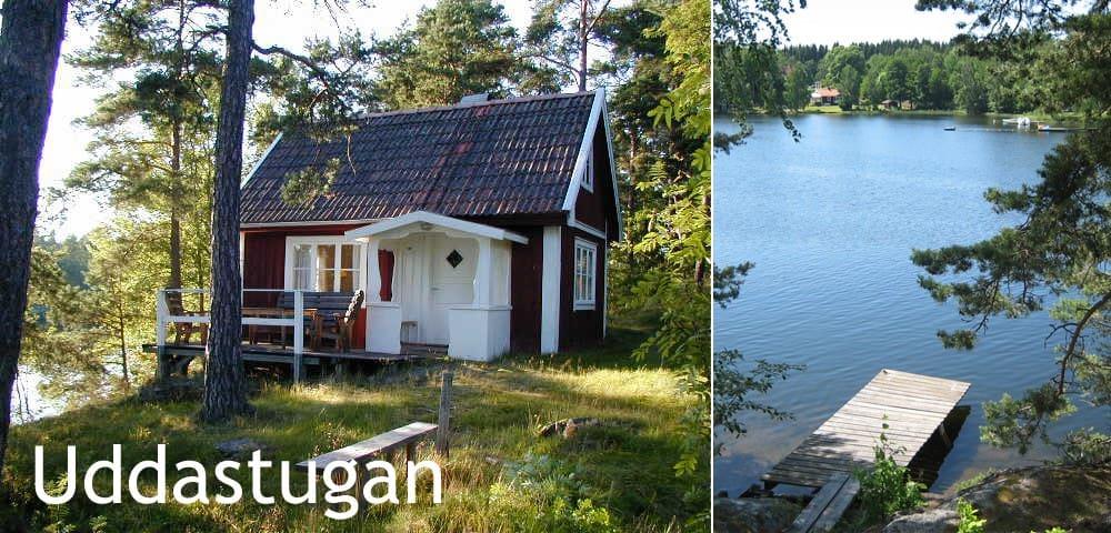 Sjöstuga vid Bunn nära Gränna - Gränna - Kabin
