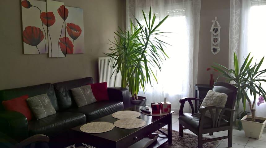 Maison/jardin calme proche centre de NANTES (5km) - Rezé - Casa