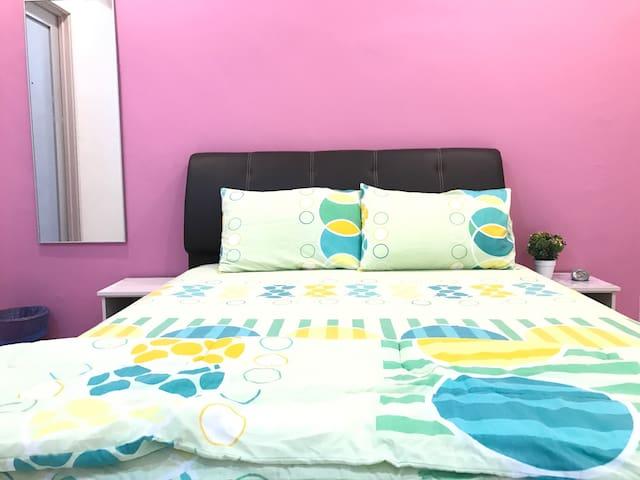 Double Room 双人房(PW4) - Ulu Tiram