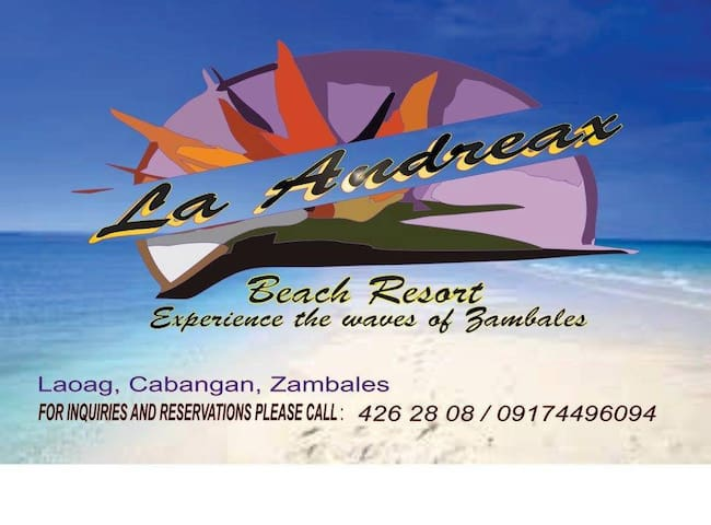LA ANDREAX BEACH RESORT - Cabangan - Houten huisje