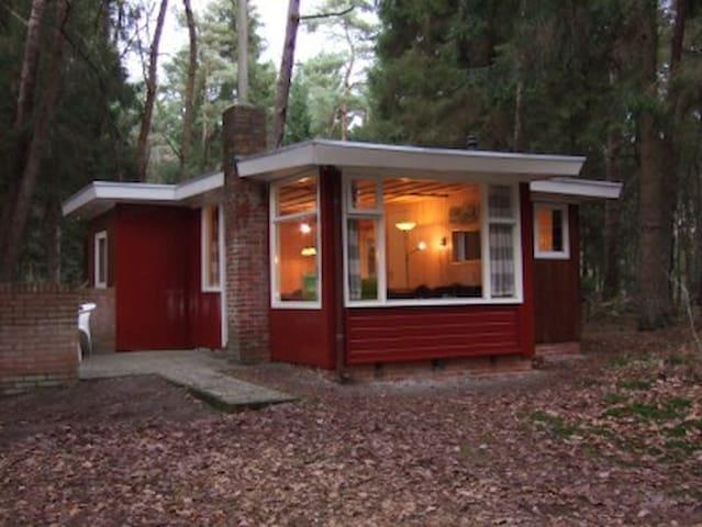 Comfortabel vrijstaand boshuis in Norg - Norg - Mökki