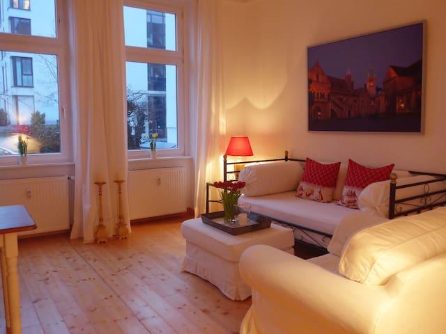 2 - Zimmer Wohnung, ruhig, stadtnah mit Parkplatz - Braunschweig - Appartement
