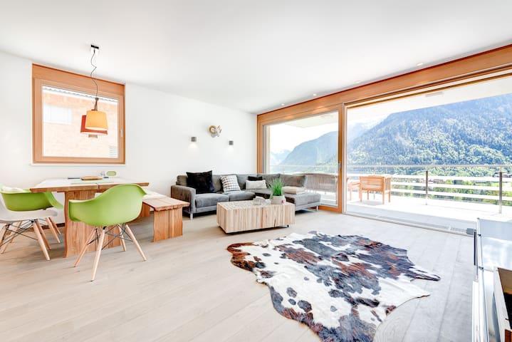 Appartement Valbona - Blick - Bürserberg