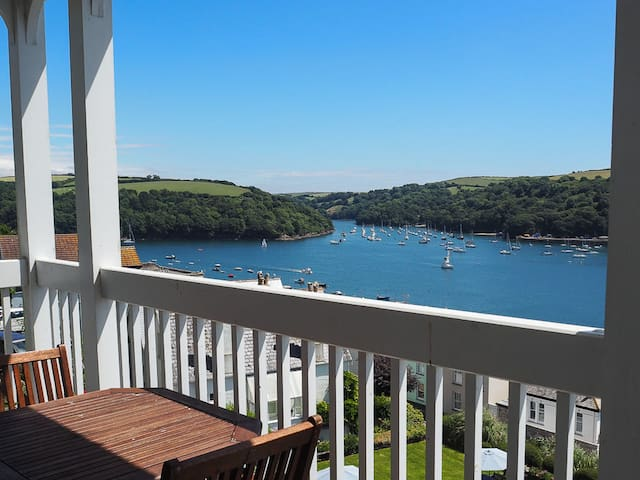 Stunning views, 2 bed flat in Cornwall - Fowey - Appartement