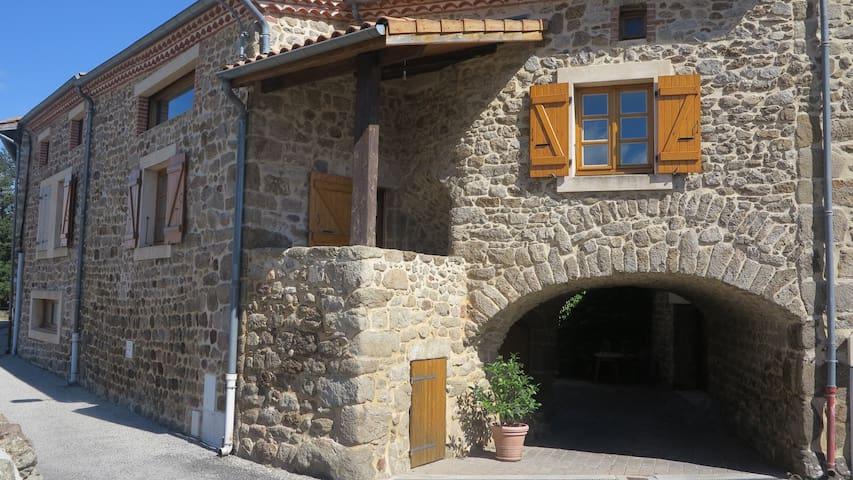 Gîte de la voute - Vernosc-lès-Annonay - Huis
