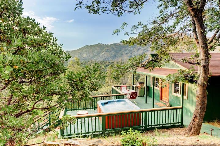 The Enchanted Lookout - private luxury cabin & Spa - 朱利安(Julian) - 小木屋
