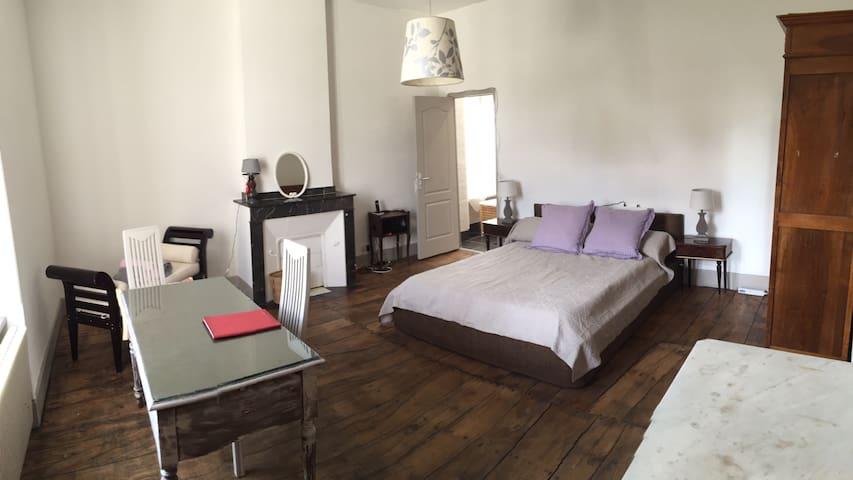 Grande chambre d'hôtes - Saint-Amans-Soult - Oda + Kahvaltı