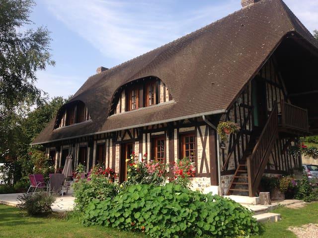 Chambre d'hôte en bord de Seine - Duclair - Bed & Breakfast