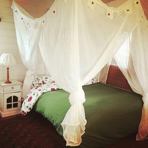 Rustic Scandinavian style log cabin - Klil - Casa