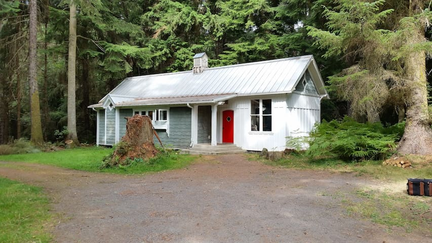 Total Privacy on 25 Acres of Orcas Island Woodland - Olga