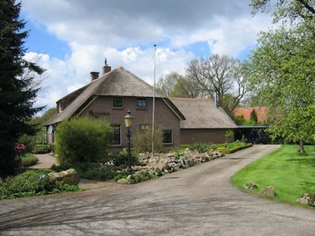 rietgedekt droomhuis - Dalen - Huis