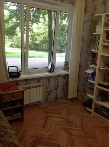 Separate room in apartments near Tsaritsino park - Москва - Appartement