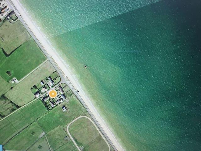 Gîte bord de mer 4 personnes - Foucarville - Huis