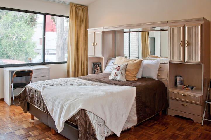 Lovely Private Room with TV & ensuite - Ciudad de México - Ev
