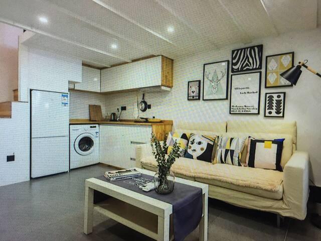 Nordic wind loft two bedroom - Leesburg - Apartmen