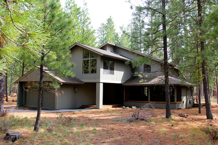 Beautiful House & setting. Great for two families - Black Butte - Maison