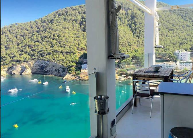 Beach penthouse 4prs GRT seaviews - Cala Llonga - Pis