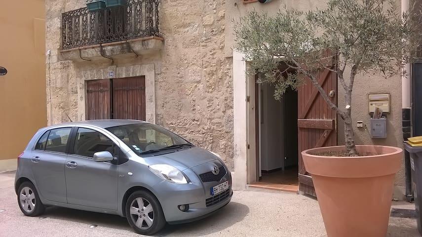Joli appartement dans un village pittoresque - Montagnac - Appartement