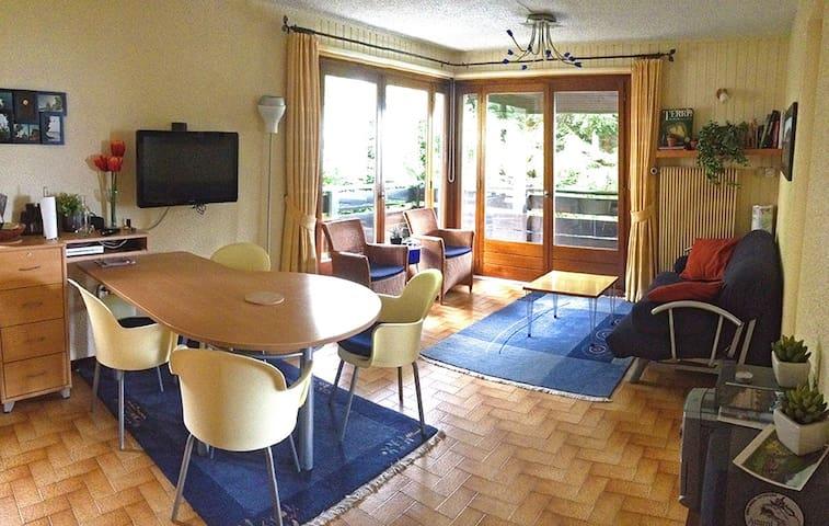 Lovely lake view apartment - Thollon-les-Mémises - Daire