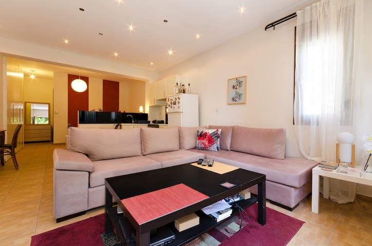 Cozy, luxury apartment fully equipped in Heraklion - Heraklion - Hus