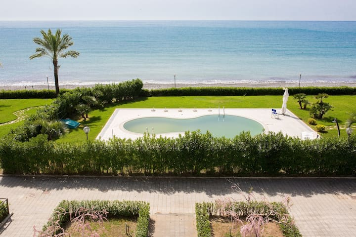 residence direttamente sul mare (camera hotel 20a) - Policastro Bussentino - Appartement