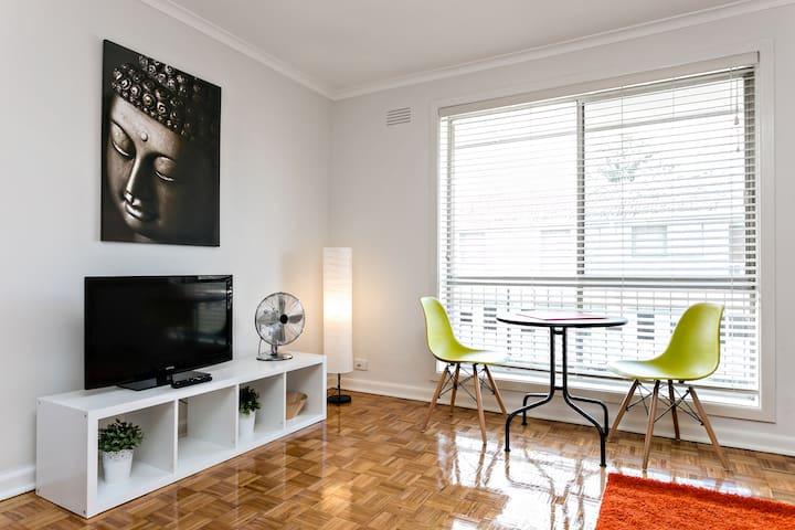 Bright & Modern Flat in Murrumbeena - Murrumbeena - 公寓