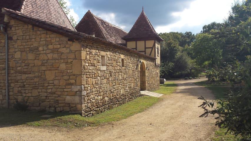 Propriété du XVIII sur 15 Hectares au calme - Saint-Sulpice-d'Excideuil - Casa