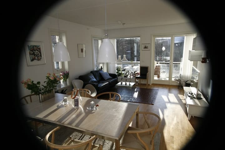 Room for 2 in modern apartment in central Oslo - Oslo - Bed & Breakfast