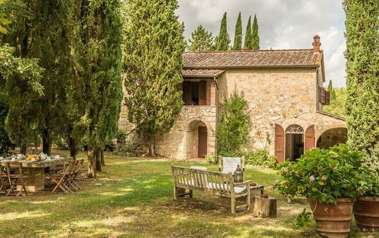 Tranquillità nel cuore del Chianti con piscina - Radda in Chianti - Vila