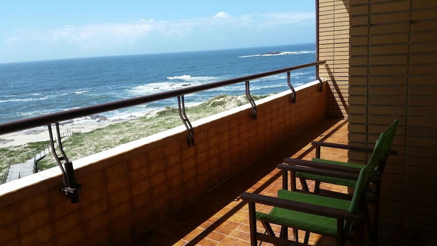 Wonderfull first line at the beach  - Vila Chã - Appartement
