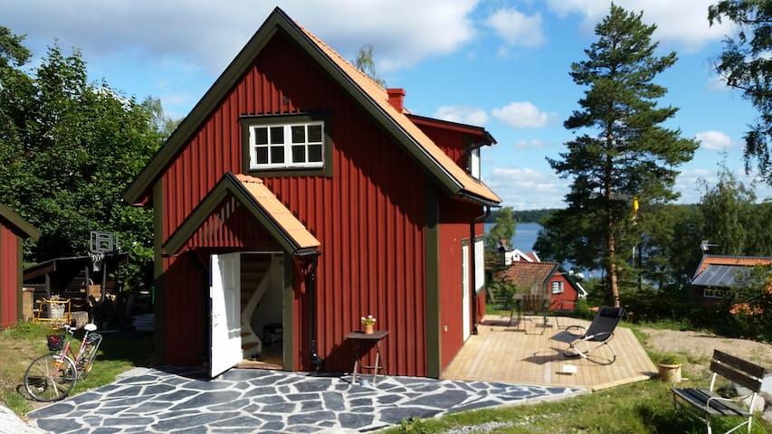 House with a fantastic veiw - Lidingö - Huis