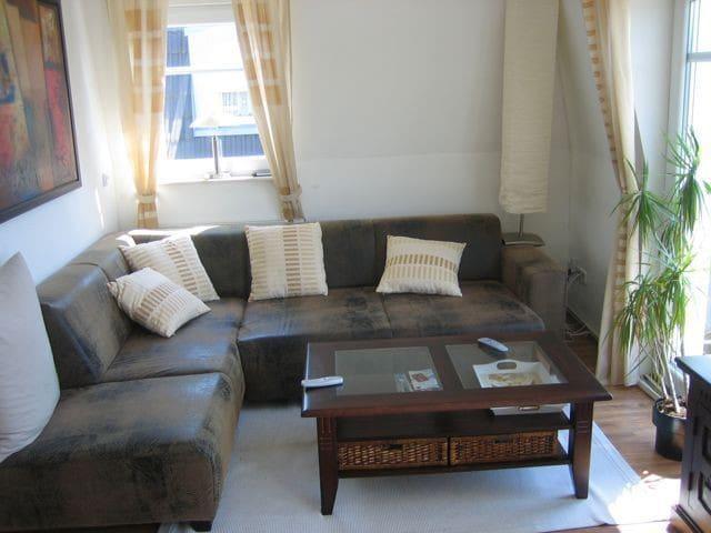 Schöne möblierte 3-Zimmer-Wohnung in Wolfsburg - Wolfsburg - Lägenhet