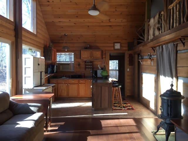 Grandpa's Cabin at Heidenreich Hollow - Martinsville - Kulübe