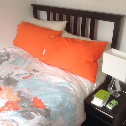 Double bedroom - Bedford Town Centre - Bedford - Leilighet