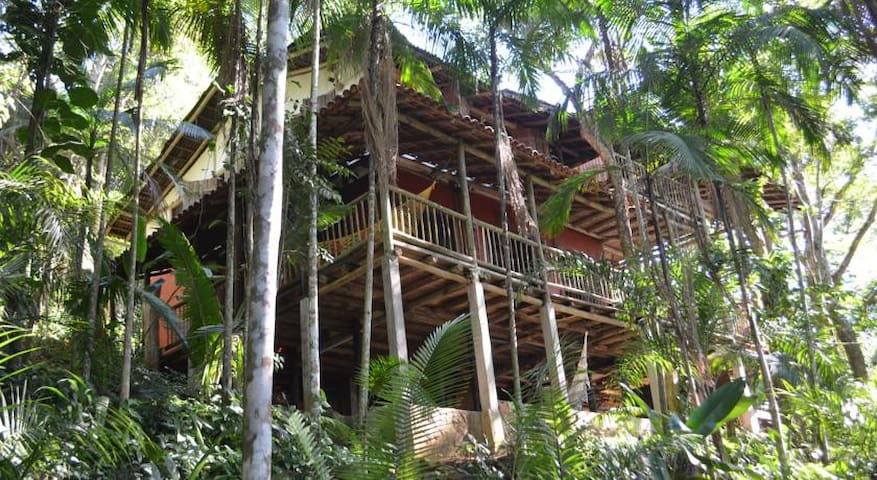 Welcome to Remo Hostel, the real treehouse!! - Paraty
