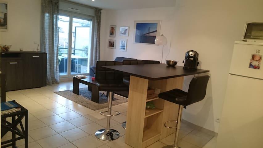 Appartement dans résidence avec piscine - Villefranche-sur-Saone - Lägenhet