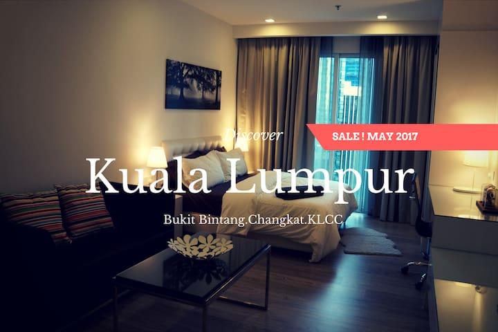 Cozy Suite with Balcony in Bukit Bintang,KLCC #01 - Kuala Lumpur - Departamento