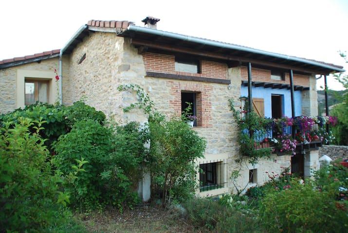 Acogedora casa de campo en Las Merindades - Brizuela - Huis