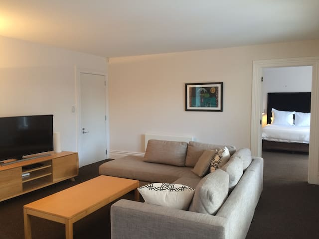 Spacious well equipped Herne Bay villa apartment - Auckland